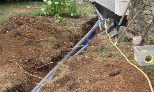 Raccordement au réseau pluvial