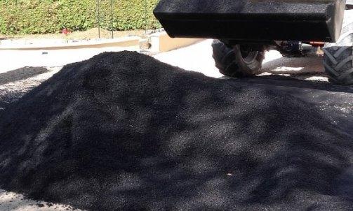 Réfection d'une cour en enrobé à chaud