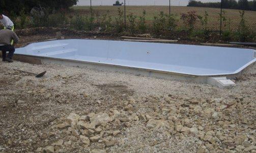 Implantation d'une piscine